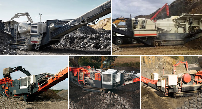Mobile Coal Crusher