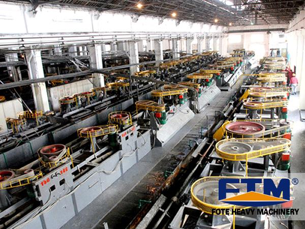 copper flotation production line