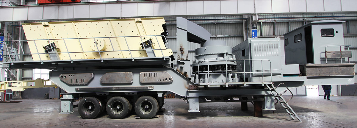 Crawler-type Mobile Cone Crusher